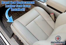 2007-2014 Ford Expedition XLT EL Max -Driver Side Bottom Leather Seat Cover Tan