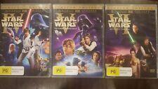 STAR WARS ORIGINAL TRILOGY RARE DELETED DVD THEATRICAL VINTAGE VERSIONS IV V VI