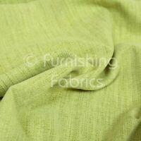 Soft Faux Wool Finish In Green Chenille Fabric Upholstery Furnishing & Curtains