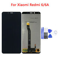 Black / White LCD Display Touch Screen Digitizer Assembly For Xiaomi Redmi 6 6A