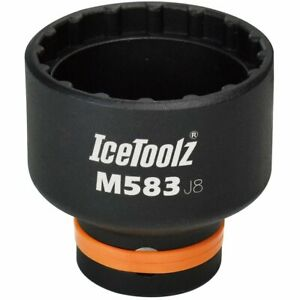 IceToolz Bicycle Cycle Bike Chainring Mounting Tool Steps E6000