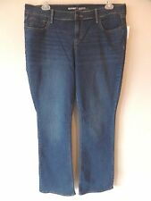 Old Navy Original Womens 14 Long 14L 14T 14 Tall Mid-Rise Hige Stretch Jeans New