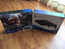 PlayStation 4 MONSTER HUNTER: WORLD Starter Pack Black Japan Imported Console