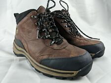 Timberland 22913M Euro Hiking Trail Athletic Ankle Boots Boys Us 4 Brown Leather