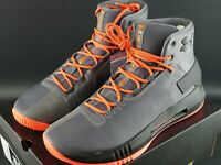 UNDER ARMOUR UA DRIVE 4 GRAPHITE BASKETBALL SNEAKERS SHOES BOOTS SIZE UK 9.5 DS