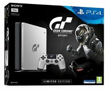 Sony PlayStation 4 Slim GT Sport Bundle 1 To Noir Jet Console