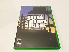 Grand Theft Auto III GTA 3 From The Xbox Collection XBOX!!!