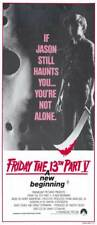 FRIDAY THE 13TH: A NEW BEGINNING Movie Poster | 13x30 | Licensed - New | (1985)