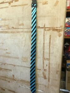 Light Blue And Black Stripe Tie