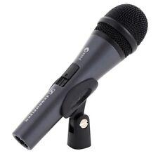 SENNHEISER E 825-S microfono dinamico cardioide switch on/off +supporto+custodia