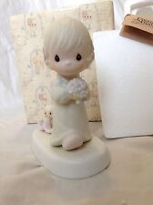 """Precious Moments 1983 """"Sharing Our Joy Together"""" Great Condition"""