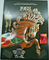 1988 Mint Set Commemorative USPS Yearbook Album with Stamps Free Shipping