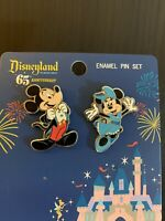 Funko Loungefly Disneyland 65th Mickey And Friends- Minnie- 2 Piece Pin Set