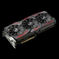 ASUS ROG Strix Radeon Rx 480 8GB GDDR5 Video Card VR Ready, 2x DP 2xHDMI 1xDVI-D