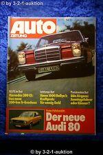 Auto Zeitung 16/72 Mercedes 280 CE Audi 80 Simca 1000 Rallye 1 + Poster