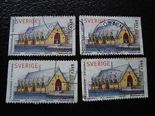 SUEDE - timbre yvert et tellier n° 2023 x4 obl (A29) stamp sweden (Z)
