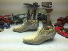 GIORGIO BRUTINI DISCO HIPSTER SNAKESKIN LEATHER ENGINEER BOSS BEATLE BOOTS 13 D