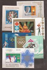 HUNGARY- 11 more Sports / Olympics Souvenir Sheets (1968-1980)