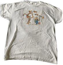 Calvin and Hobbes t-shirt White Men's Large Bittle Tree