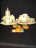 Vintage Burwood Homco  Syroco Wall Hanging Mexican lot of 5 pieces