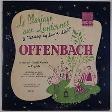 OFFENBACH: Marriage by Lantern Light MAGIC-TONE USA 50s ORIG Rare VINYL LP
