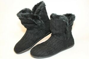 Vionic Kari Womens Size 8 Wide 39 Textile Bootie Slippers Comfort Shoes TVW4930