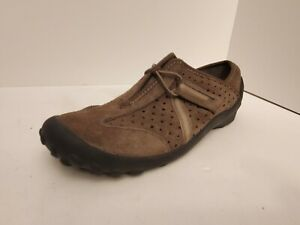 Clarks Privo P-Tequini Women's Leather Brown Comfort Walking Shoes Size 5 M