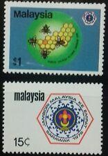 MALAYSIA 1978 4TH MALAYSIAN SCOTT JAMBOREE SG 177 - 178 MNH OG