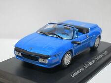 Lamborghini Jalpa Spyder Prototipo 1987 blue 1/43 LEO Ixo