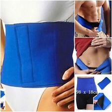 Slimming Belt Fat Belly Burner Waist Cellulite Weight Loss Stomach Sweat Back LN