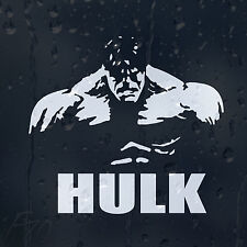 The Incredible Hulk Avengers Heroes Car Decal Vinyl Sticker For Window Or Bumper