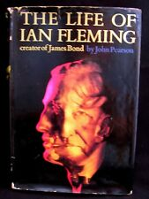 James Bond - The Life of Ian Fleming by John Pearson 1966 1st ed HB