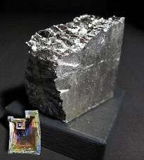 NSF - 455 g BISMUTH metal ingot  99.99% crystal making FREE UK postage