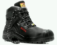 ELTEN Renzo Biomex ESD Mens Safety Waterproof BOOTS Black Steel Toe Size UK 9 43