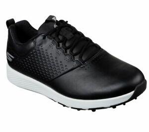 Skechers GO GOLF Elite V.4 Golf Shoes Mens Black/White 54552 - New 2021