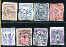 8 Different Mexico 100 Pesos Metales Preciosos Revenues (CV $120) (Lot #rn82)