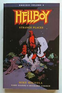 Hellboy Vol. 2 Strange Places Dark Horse Graphic Novel Comic Book