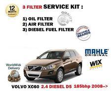 Per VOLVO XC60 2.4 D5 185bhp 2008 - & GT Olio Aria Carburante Filtro Servizio Kit * OE qualità *