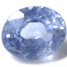 Excellent Cut Oval Blue Loose Sapphires