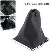 1Pc Auto Vehicle Gear Shift Stick Gaiter Boot Cover For 2005-2012 Ford Focus TP