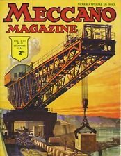 Meccano Magazine, Edition French, N° 12 December 1936, Bel Condition