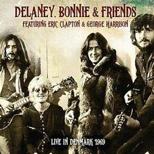 DELANEY BONNIE & FRIENDS feat. E. CLAPTON &G. HARRISON Live In Denmark 1969 2 CD