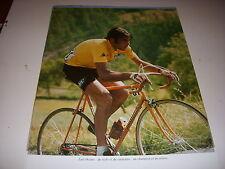 CYCLISME COUPURE LIVRE T917 COULEUR TdF1973 Luis OCANA BIC en MAILLOT JAUNE