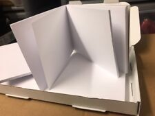 6 X A6 NotePad Plain White (50 sheets) Perfect For Sports Football Golf Etc