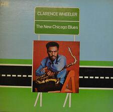 "CLARENCE WHEELER - NEW CHICAGO BLUES 1973 ATLANTIC SD 1636   12"" LP (X 33)"