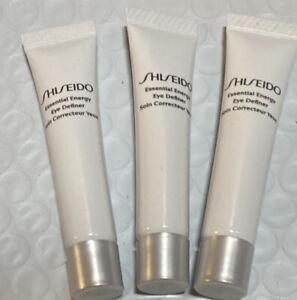 Lot 3 Shiseido Essential Energy Eye Definer 0.18oz/5ml Each, New