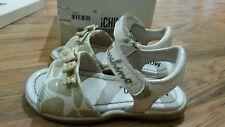 Girls MOSCHINO Sandals size: 6 (22) white with beige