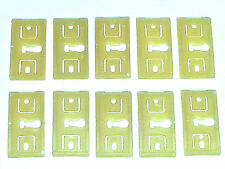 69-72 NOS Ford Lincoln Mercury Body Rocker Molding Moulding Trim Clips 10pcs BB