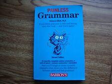 Painless Grammar by Rebecca S. Elliott Middle School English Writing
