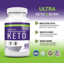 Ultra Keto X Burn 800 mg, Diet Pills Tablets, For Energy + Focus Men and Women